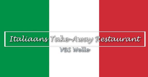 Italiaans Take Away Restaurant - VBS Welle 2021